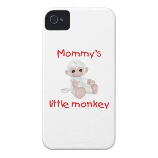 Mommy's Little Monkey (white) Case-Mate Blackberry Case