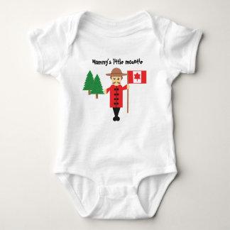 Mommy's Little Mountie | Baby Bodysuit