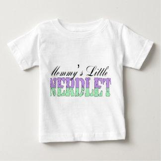 Mommy's Little Nerdlet Baby T-Shirt