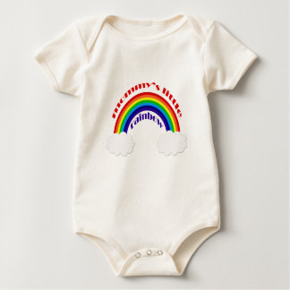 Mommy's Little Rainbow Baby Bodysuit