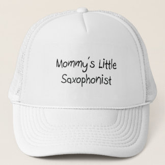 Mommys Little Saxophonist Trucker Hat