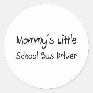 Mommys Little School Bus Driver Sticker