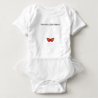Mommy's Little Sidekick superhero mask unisex Baby Bodysuit