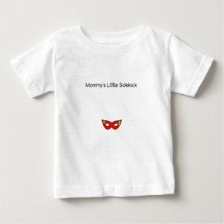 Mommy's Little Sidekick superhero mask unisex Baby T-Shirt