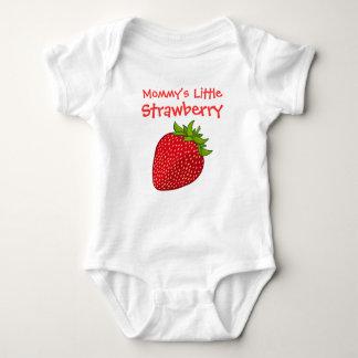 Mommy's Little Strawberry Baby Bodysuit