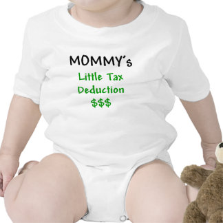 Mommys Little Tax Deduction $$$ Romper
