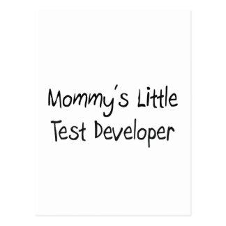 Mommys Little Test Developer Post Cards