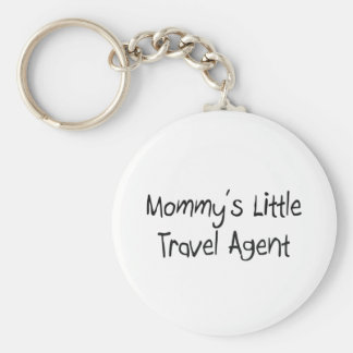 Mommys Little Travel Agent Key Chains