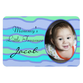 Mommy's Little Treasure Personalized Magnet