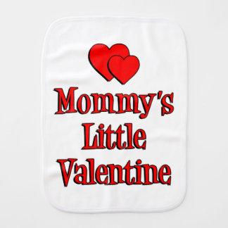 Mommy's Little Valentine Burp Cloths