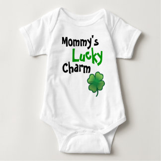 Mommys Lucky Charm Baby Bodysuit