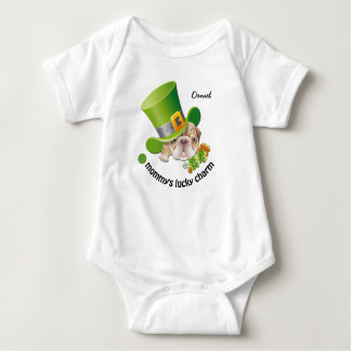 Mommy's Lucky Charm. Baby Bodysuits