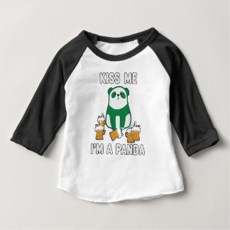 Mommy's Lucky Charm St Patrick's Day Baby T-Shirt