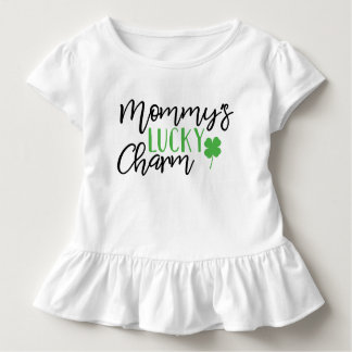 Mommys Lucky Charm St Patricks Day Toddler T-Shirt