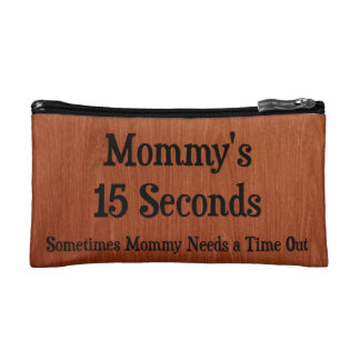 Mommy's Make Up Bag Cosmetic Bag