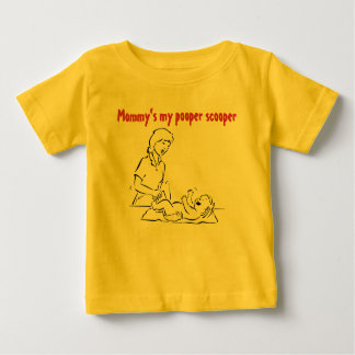 Mommy's my pooper scooper tee shirt