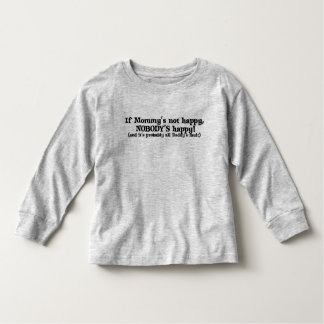 Mommy's Not Happy, and it's Daddy's Tee Shirts