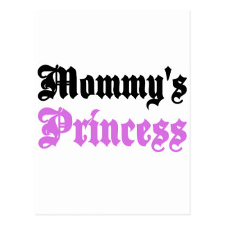 Mommy's Princess Postcard