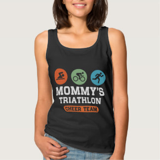 Mommy's Triathlon Cheer Team Singlet