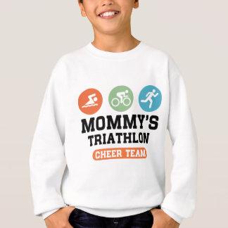 Mommy's Triathlon Cheer Team Sweatshirt