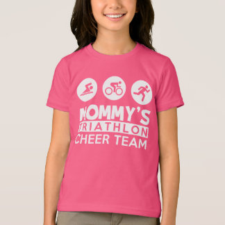 mommy's triathlon cheer team T-Shirt