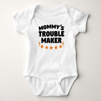 Mommy's Trouble Maker Baby Bodysuit