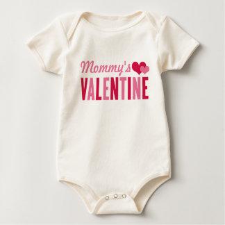 Mommy's Valentine   Valentine's Day Bodysuits