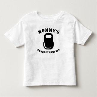 Mommy's Workout Partner Toddler T-Shirt