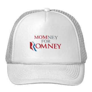 MOMNEY FOR ROMNEY.png Trucker Hat