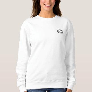 MOMO NOMO Women's White Sweatshirt