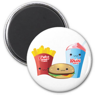 Momo Room Fast Food Magnet