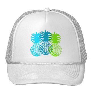 Momona Pineapple Hawaiian Tropical Cap