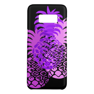 Momona Pineapple Hawaiian Tropical Purple Case-Mate Samsung Galaxy S8 Case