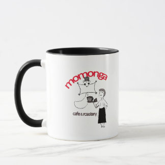 Momonga Cafe Waitless and Waiter Mug