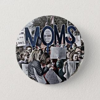 MOMs 6 Cm Round Badge