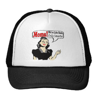 Moms Are Smarter T-shirts and Gifts For Her Mesh Hats