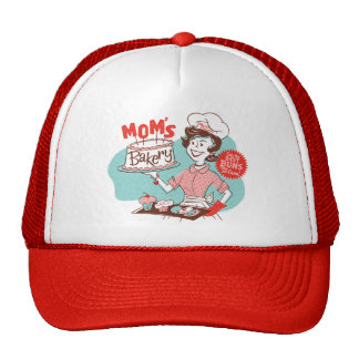 Mom's Bakery Retro Mother's Day Hat