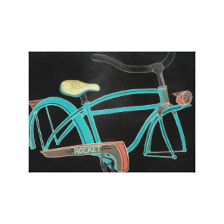 Mom's Bike Canvas Print