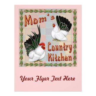 Mom's Country Kitchen 21.5 Cm X 28 Cm Flyer
