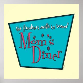 Mom's Diner: Breastfeeding Print