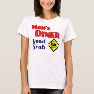 Mom's Diner Good Grub Retro Restaurant T-Shirt