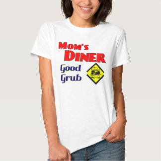 Mom's Diner Good Grub Retro Restaurant Tshirts