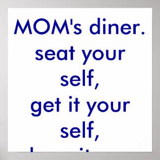MOM's diner Poster