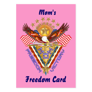 Mom's Free Pass Card View About Design Business Card Template