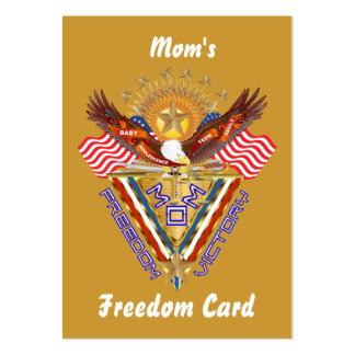 Mom's Free Pass Card View About Design Business Card