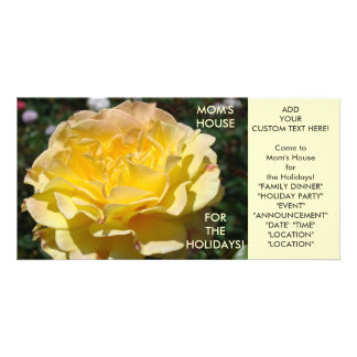 MOM'S HOUSE for HOLIDAYS Invitation Cards Events Custom Photo Card