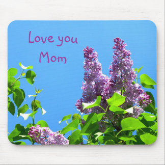 Mom's Lilacs Mousepad