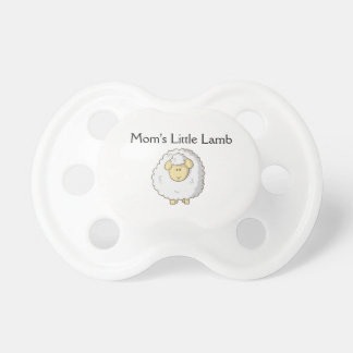 Mom's Little Lamb Pacifiers