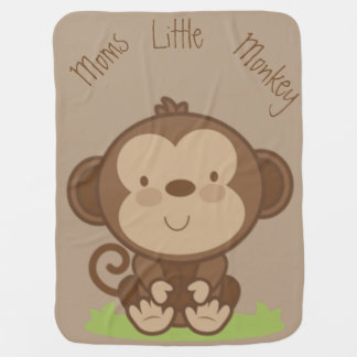Moms Little Monkey Swaddle Blankets
