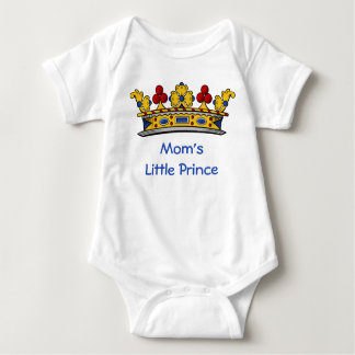 Mom's Little Prince with Crown Tee Shirts